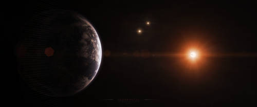 Gliese 667 Cc by Alpha-Element