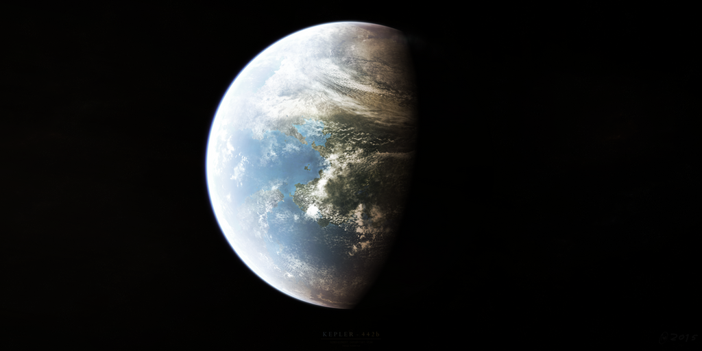 Kepler-442b by Alpha-Element