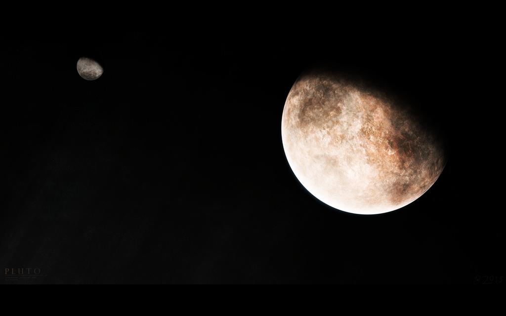 Kerberos Moon Of Plluto: Pluto By Alpha-Element On DeviantArt