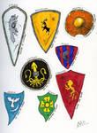 SOIAF Heraldry sketches