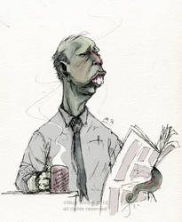 Morning cup of Cthluhu