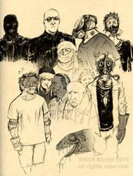 Sketchbook Sample -American Apocalypse
