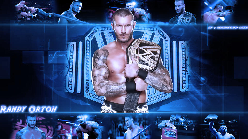 Randy Orton Wallpaper By Mahmoud Gfx