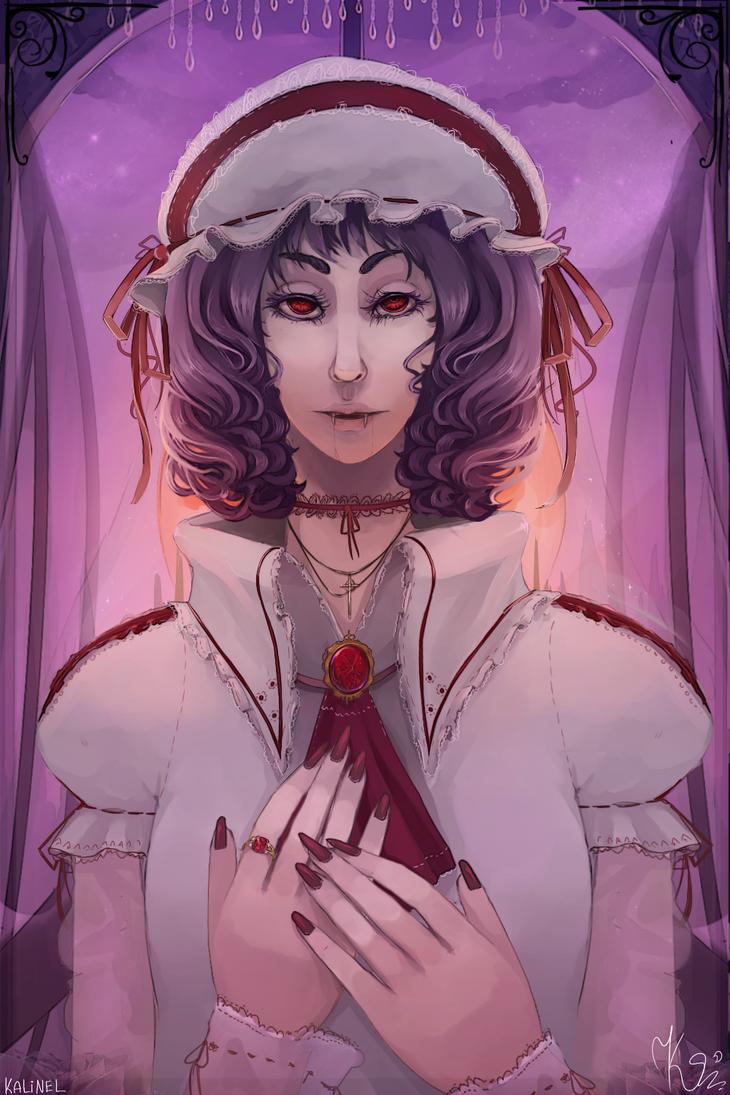 Vampire queen by Kalinel
