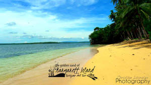golden sand of Margarett Island