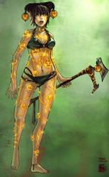 Guild Wars Necro Collab by ChanpART