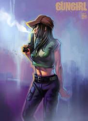 Gungirl Coloured by ChanpART