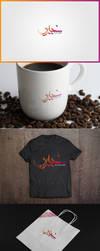 my new logo with arabic by khirouboumaaraf