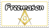 Freemason Stamp by ForsakenOutlaw