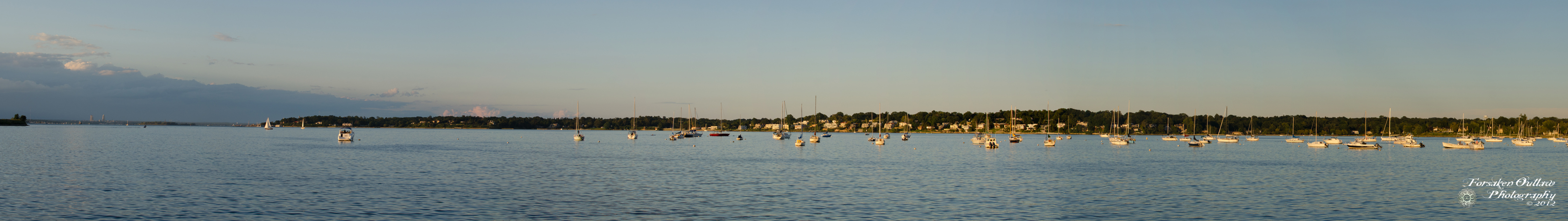 Bayside Marina Panorama by ForsakenOutlaw
