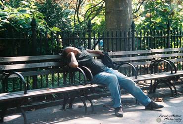 The Sleeping Man by ForsakenOutlaw