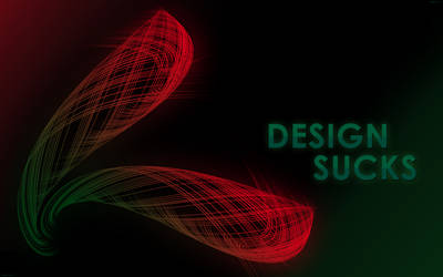 design sucks by wanderlima