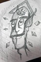 work doodle II by wanderlima