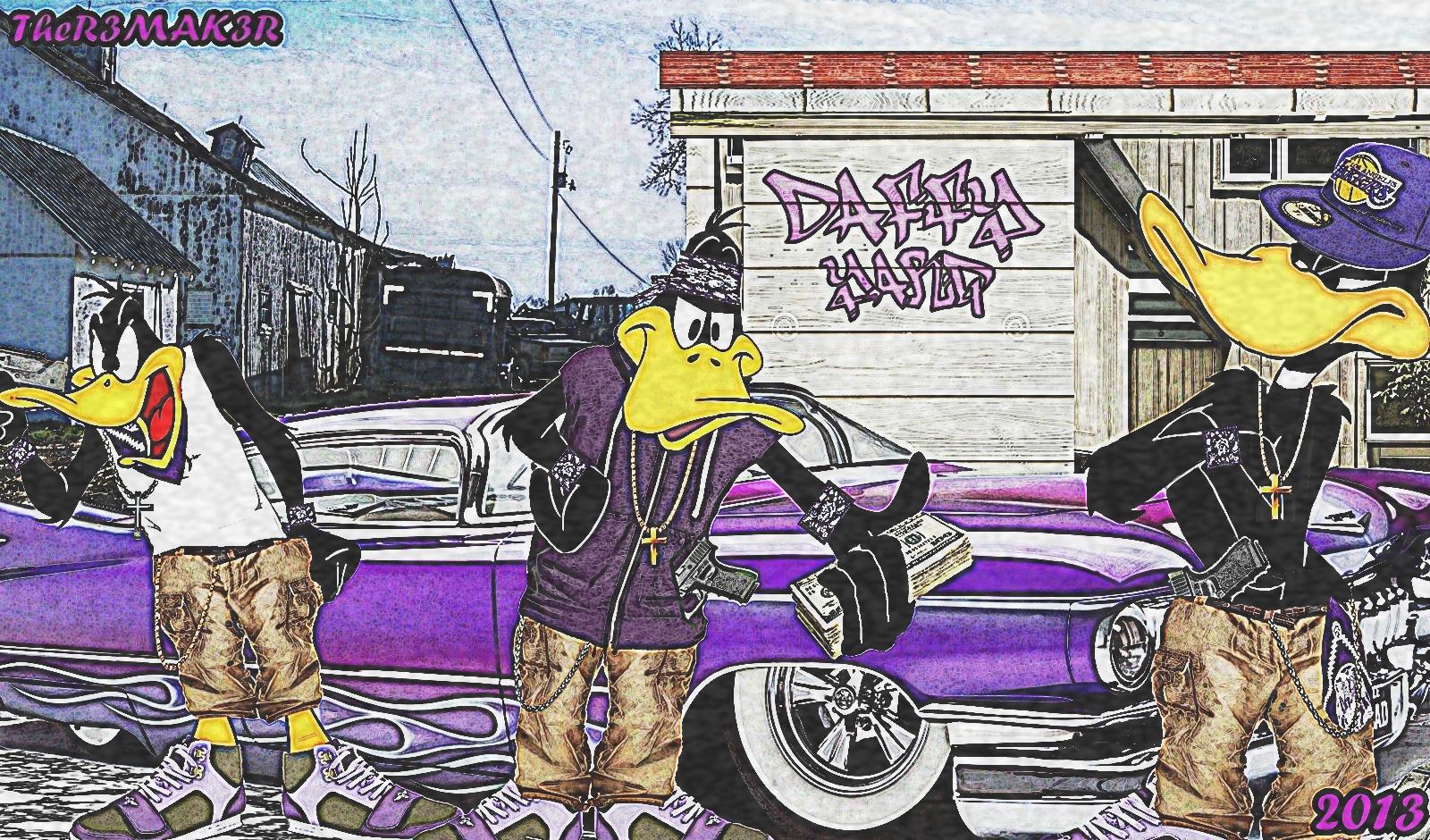 Gangster Daffy Duck Daffy Duck Gang Bangers by