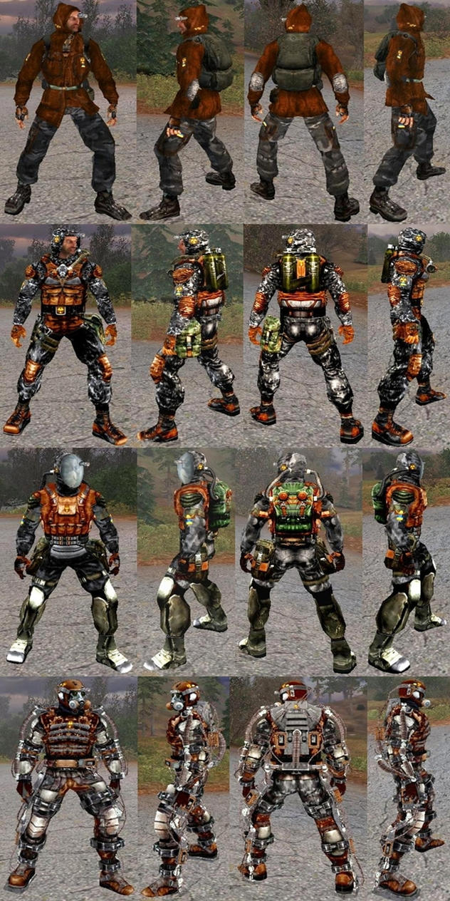 TheR3MAK3R's Loners Skins (v.1-final) by TheR3MAK3R