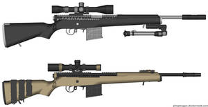 Karnus Sniper Rifle