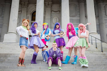 Equestria Girls: Together We Stand by DestructiveDoll