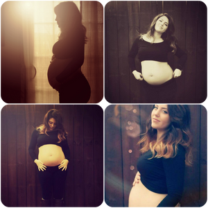 Maternity pics of my wife and soon to be daughter