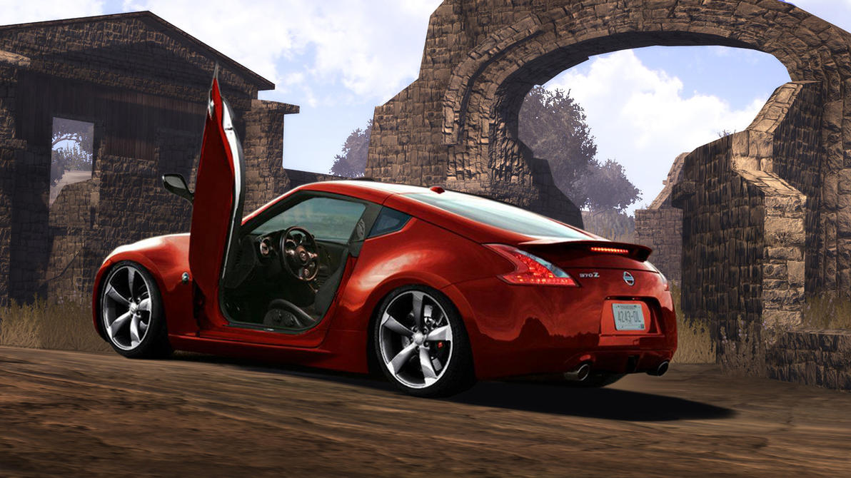 nissan 370z tuning virtual by vinicim68 on deviantart. Black Bedroom Furniture Sets. Home Design Ideas