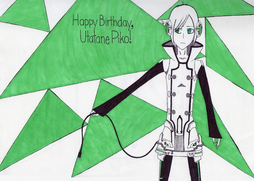 Happy Birthday, Piko! by TrunksDragonballZ