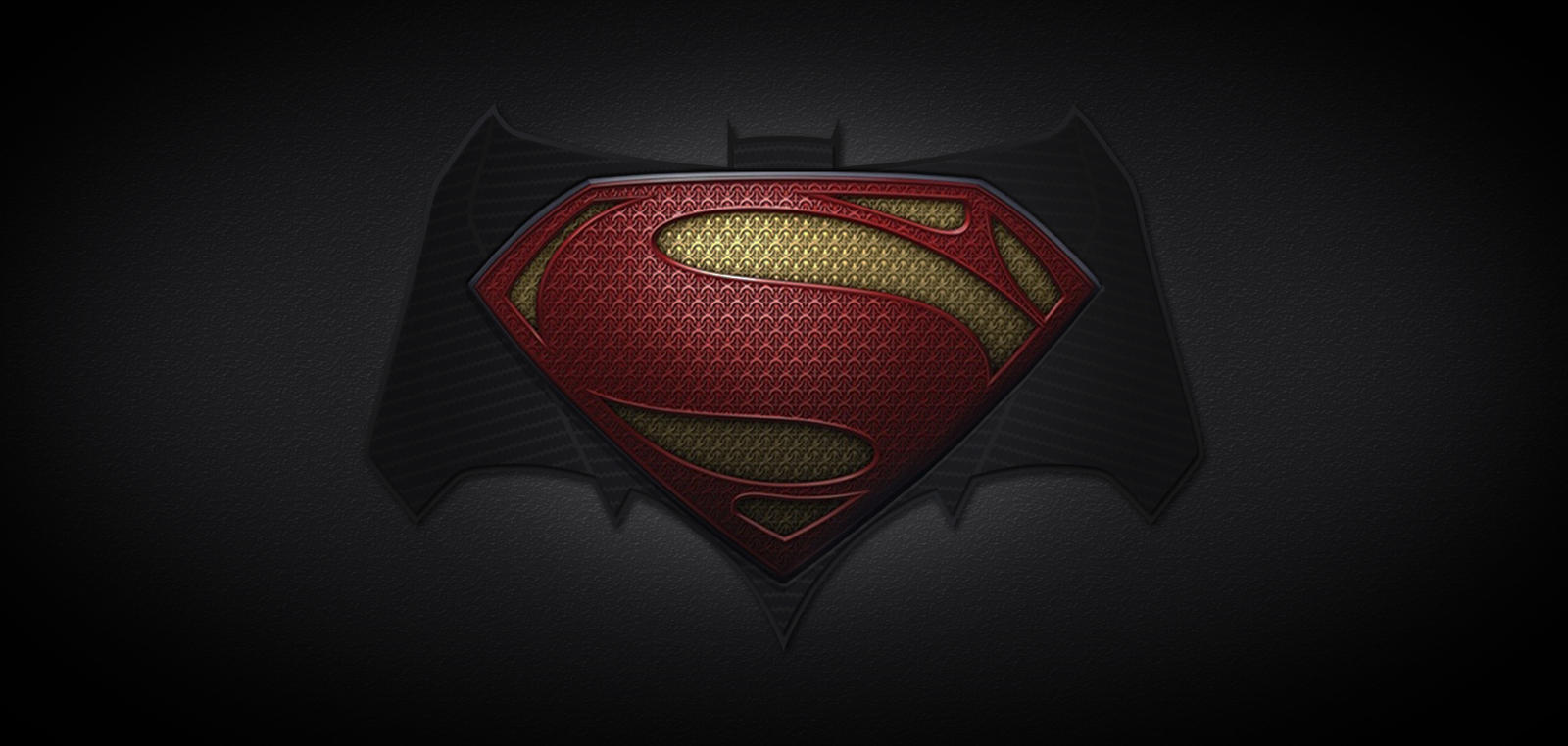 Superman And Batman Logo 2015