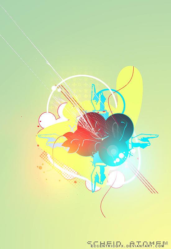 Scheid Atomen by eccentricgfx