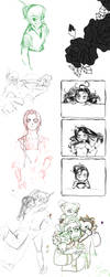 EXPLOSIVE SKETCH DIARRHEA by Scribbles02