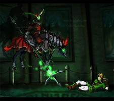 Facing The Phantom by bezzalair