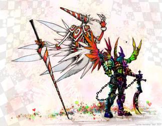 Knight Summon by bezzalair