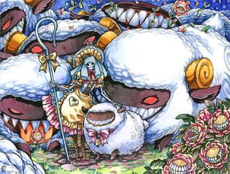 BoPeep's Sheep by bezzalair