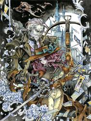 The Tarot Slayer by bezzalair