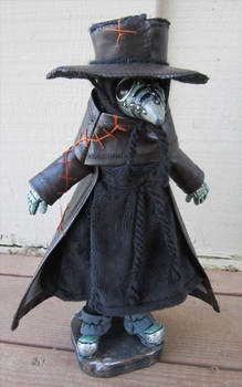 Dougal The Plague Doctor Doll