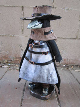 Pengie The Plague Doctor Doll