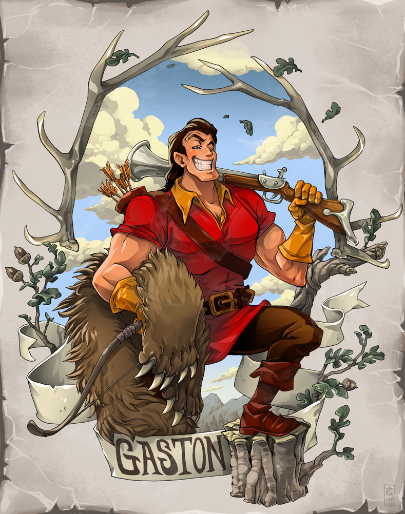 Gaston The Hunter