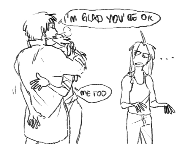 i am so glad your ass is okay by Cabout