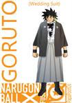 Goruto's Wedding Suit by PapaPootOs