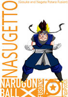 Nasugetto (Gosuke and Nageta Fusion) by PapaPootOs