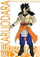 Karuodara (Exfusion of Goruto and Brodara) by PapaPootOs