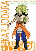 Karuodara Hybrid Legendary Super Saiyan Rinnegan by PapaPootOs