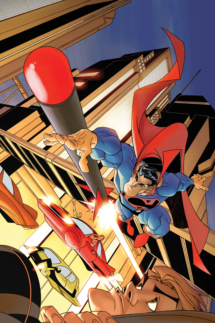 .Superman Cover. by Roberto-Flores