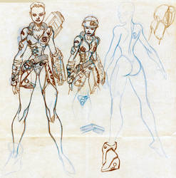 .Andromeda Early Design.