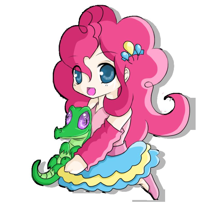 Chibi Pinkie Pie by rhamana
