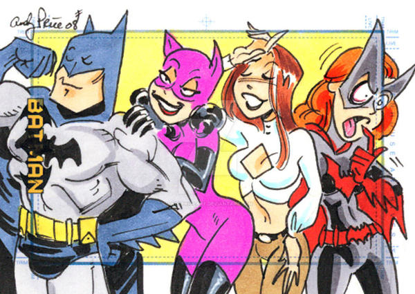 batbarf - Batwoman by andypriceart