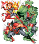 Marvel Red Lantern Corps