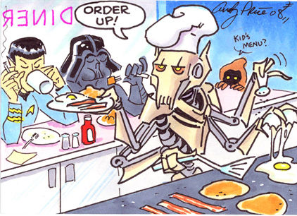 General Grevious by andypriceart