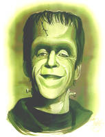 Herman Munster portrait
