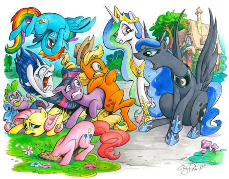 The Royal Canterlot Voice, My Little Pony