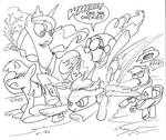 My Little Pony Fly By