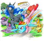 Pinkie Pie Fly By, My Little Pony
