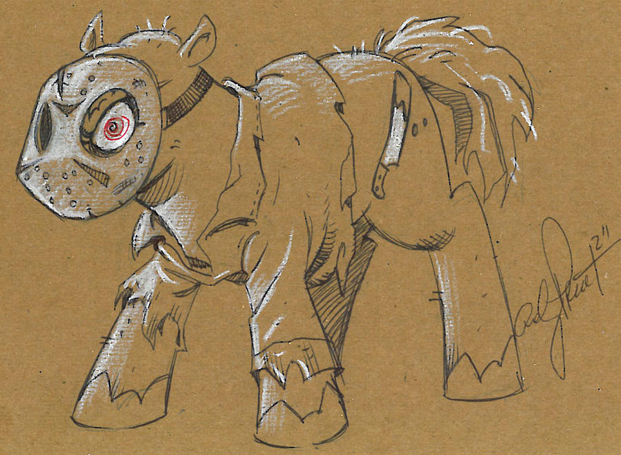 Friday The 13th in Ponyville by andypriceart
